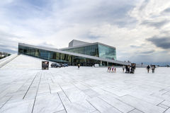The Oslo Opera House, Norway Royalty Free Stock Images