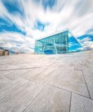 Oslo Opera House. In Norway with blue sky Royalty Free Stock Photography