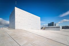 Oslo Opera House Royalty Free Stock Photo