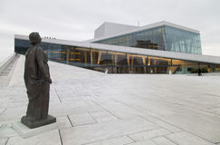 The Oslo Opera House in Norway Stock Photo