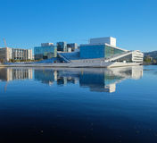 Oslo opera house, Norway stock image