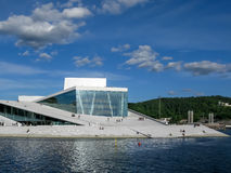 Oslo Opera House in Norway Stock Images