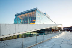 Oslo Opera House Norway stock photo