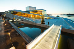Oslo Opera House Norway royalty free stock photography