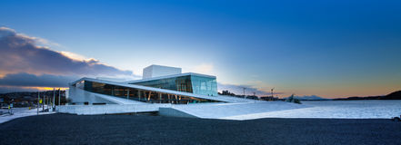 Oslo Opera House or Norwegian National Opera and Ballet, Norway. Royalty Free Stock Images