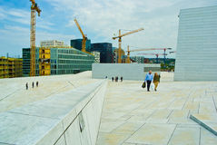 Oslo Opera Royalty Free Stock Photography