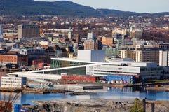 Oslo operahouse Stock Afbeelding