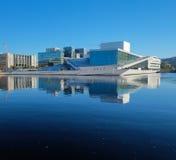 Oslo-Opernhaus, Norwegen stockbild