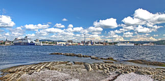 Oslo panorama Royalty Free Stock Images