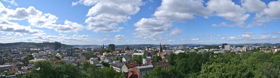 Oslo panorama Stock Photo