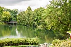 oslo parkvigeland Royaltyfri Foto