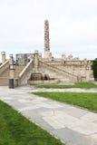 oslo parkvigeland Royaltyfri Fotografi