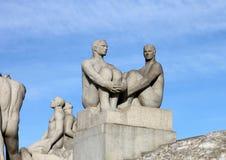 oslo parkvigeland Fotografering för Bildbyråer