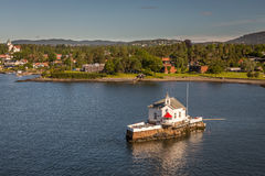 Oslo River Royalty Free Stock Images