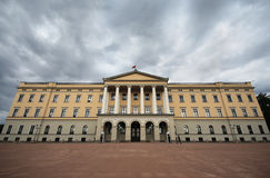 Oslo Royal Palace Royalty Free Stock Images