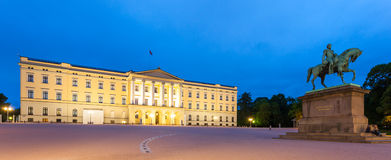 Oslo Royal Palace Stock Photography