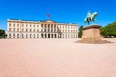 Oslo Royal Palace, Norway. Royal Palace in Oslo, Norway. Royal Palace is the official residence of the present Norwegian monarch Stock Image