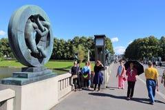 Oslo sculptures Stock Photos
