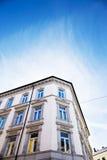 Oslo stadsbyggnad Fotografering för Bildbyråer
