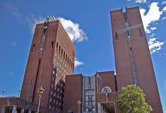 Oslo stadshus Fotografering för Bildbyråer