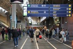 Oslo station Stock Photo