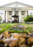 Oslo Stock Exchange during the autumn Stock Image