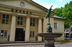 Oslo Stock Exchange Stock Image