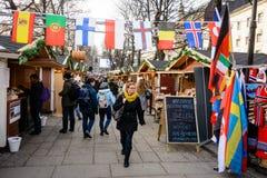 Oslo street market Stock Photography