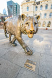Oslo Tiger Royalty Free Stock Images