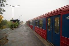 Oslo-Untergrundbahn Lizenzfreies Stockfoto