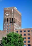 Oslo urząd miasta Obrazy Royalty Free
