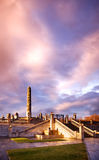 oslo vigeland park Zdjęcie Royalty Free