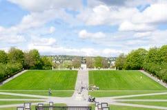 Oslo Vigeland Park Royalty Free Stock Image