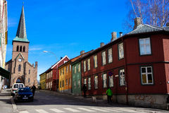 Oslo-Vorort Lizenzfreies Stockbild