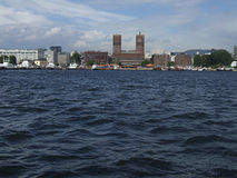 Oslo waterfront Royalty Free Stock Images