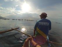 Oslob Wielorybi rekin Ogląda Butanding 2017 Obrazy Stock