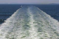 oslofjord ίχνος σκαφών Στοκ φωτογραφίες με δικαίωμα ελεύθερης χρήσης