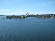 Oslofjord Стоковые Фотографии RF