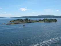 Oslofjord Стоковая Фотография