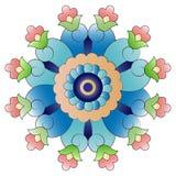Osmańska sztuka kwitnie dwadzieścia cztery Ilustracji