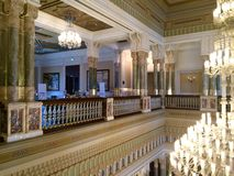 Osmański pałac Ciragan obraz royalty free