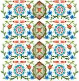 Osmańskie motywu projekta serie pięćdziesiąt osiem Ilustracja Wektor