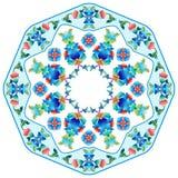 Osmańskie motywu projekta serie sześćdziesiąt pięć Royalty Ilustracja