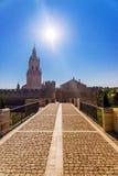 Osma аgainst le ciel, Espagne image stock