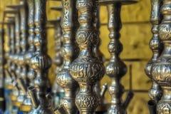 Osmańscy nargile Obrazy Royalty Free