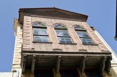 Osmańska fasada w alei Zdjęcia Royalty Free