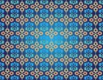 Osmański bezszwowy wzór jeden Ilustracji