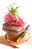 osmalony ahi tuńczyk Zdjęcia Royalty Free