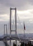 Osman Gazi Bridge Foto de archivo libre de regalías