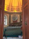 Osman Gazi mausoleum. In Bursa, Turkey stock photo